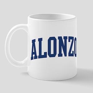ALONZO design (blue) Mug