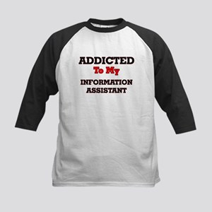 Addicted to my Information Assista Baseball Jersey