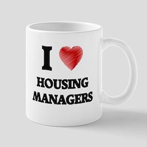 I love Housing Managers Mugs