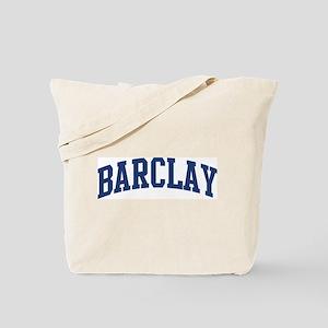 BARCLAY design (blue) Tote Bag