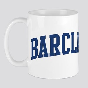BARCLAY design (blue) Mug