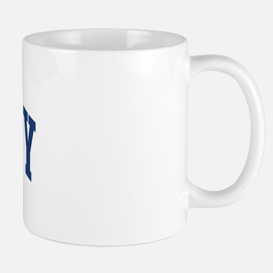 BARCLAY design (blue) Mug