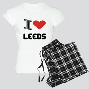 I Love Leeds City Women's Light Pajamas
