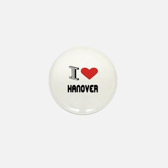 I Love Hanover City Mini Button