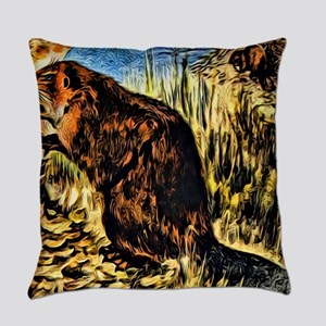 Beaver Everyday Pillow