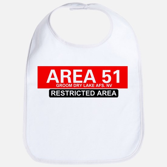 AREA 51 - GROOM LAKE Bib
