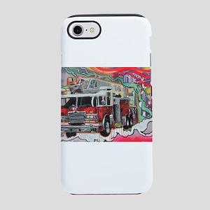 Graffiti Fire Truck iPhone 8/7 Tough Case