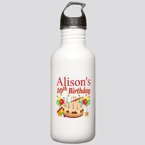 PERSONALIZED 10TH Stainless Water Bottle 1.0L