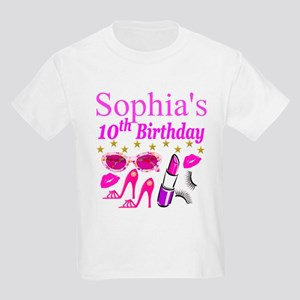 PERSONALIZED 10TH Kids Light T-Shirt