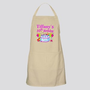 PERSONALIZED 10TH Apron