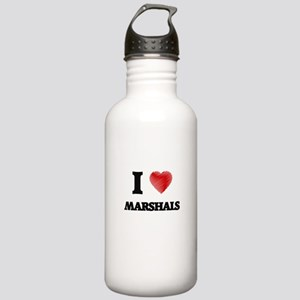I love Marshals Stainless Water Bottle 1.0L
