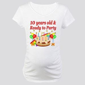 PERSONALIZED 10TH Maternity T-Shirt