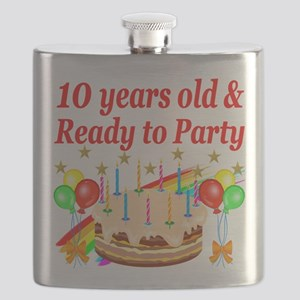 PERSONALIZED 10TH Flask