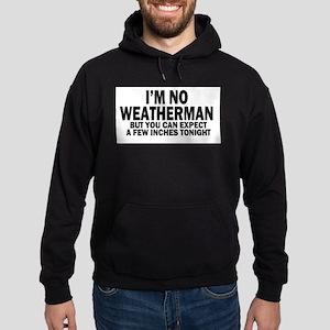 im not weatherman funny humour Hoodie (dark)