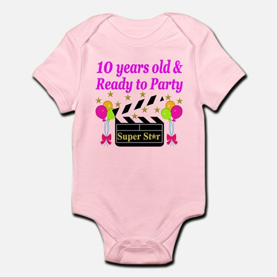 PERSONALIZED 10TH Infant Bodysuit
