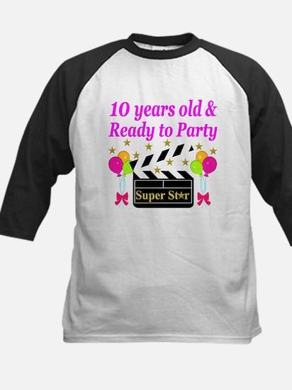 PERSONALIZED 10TH Kids Baseball Jersey