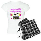 10th birthday girls T-Shirt / Pajams Pants