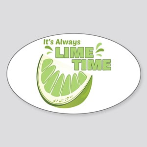 Lime Time Sticker