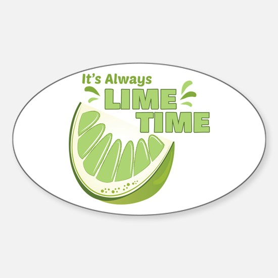Lime Time Decal