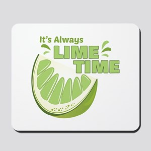 Lime Time Mousepad