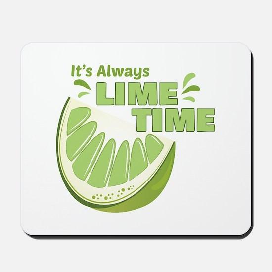 Lime Time Mousepad