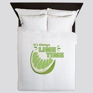 Lime Time Queen Duvet