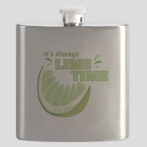 Lime Time Flask