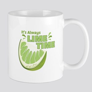 Lime Time Mugs
