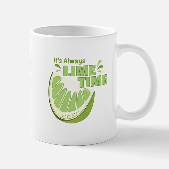 Lime Time Mugs