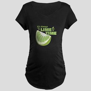 Lime Time Maternity T-Shirt