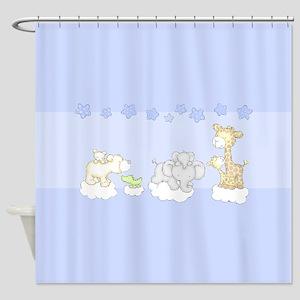Cute Safari on Shower Curtain
