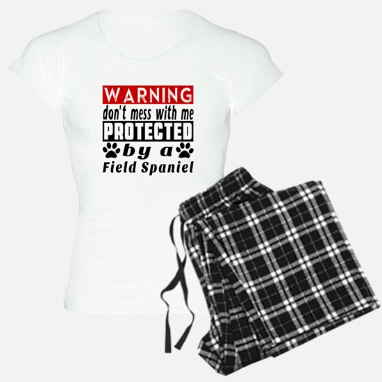 Protected By Field Spaniel Pajamas