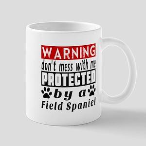 Protected By Field Spaniel Dog Mug