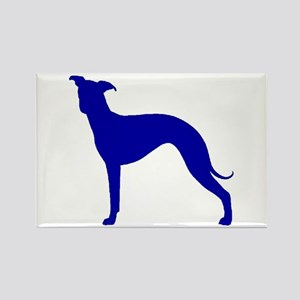 Greyhound Two Blue 2 Magnets