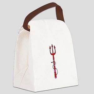 Halloween Pitchfork Canvas Lunch Bag