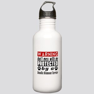 Protected By Dandie Di Stainless Water Bottle 1.0L