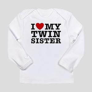 I Love My Twin Sister Long Sleeve T-Shirt