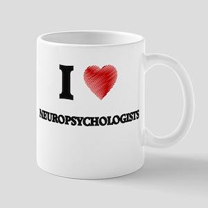 I love Neuropsychologists Mugs