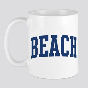 BEACH design (blue) Mug