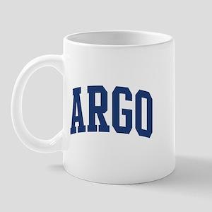 ARGO design (blue) Mug
