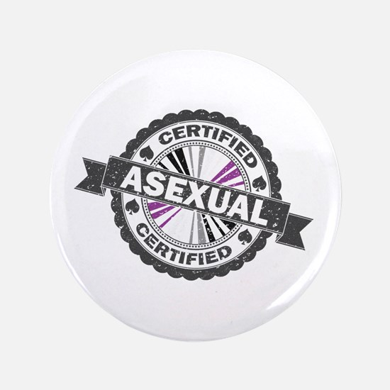 Certified Asexual Stamp Button