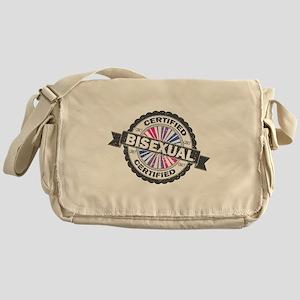Certified Bisexual Stamp Messenger Bag