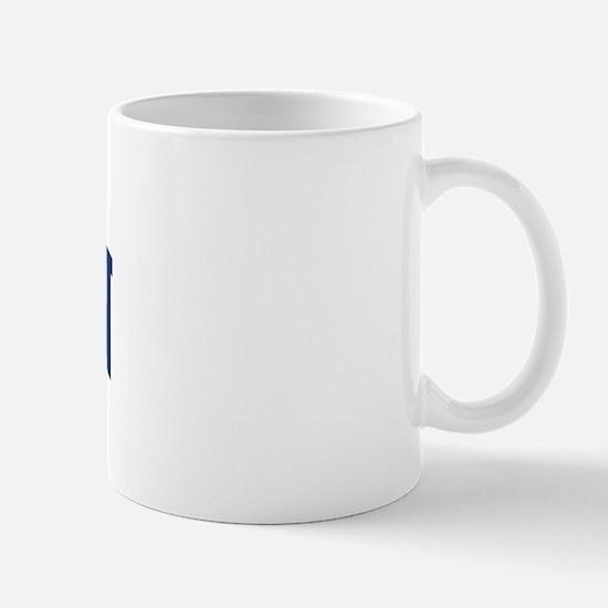 BAKKEN design (blue) Mug