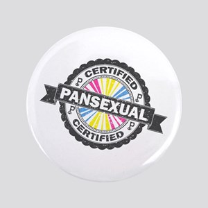 Certified Pansexual Stamp Button