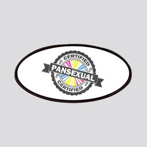 Certified Pansexual Stamp Patch