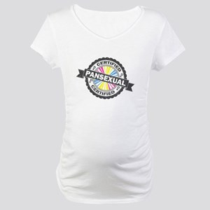 Certified Pansexual Stamp Maternity T-Shirt