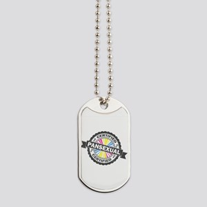 Certified Pansexual Stamp Dog Tags