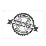 Certified Genderqueer Sta Postcards (Package of 8)