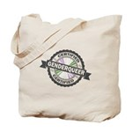 Certified Genderqueer Stamp Tote Bag