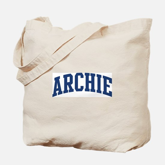 ARCHIE design (blue) Tote Bag